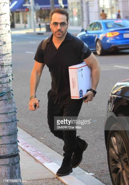Jeremy Piven is seen on December 9 2019 in Los Angeles California