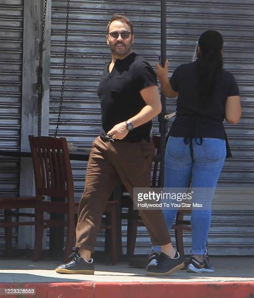 Jeremy Piven is seen on June 27 2020 in Los Angeles California