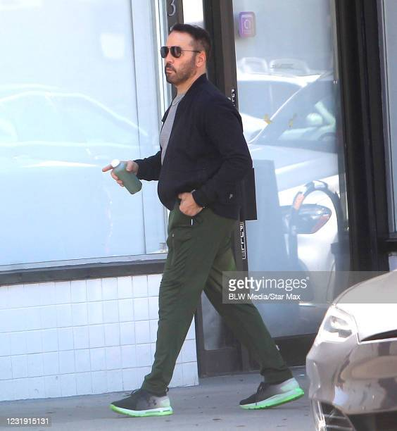 Jeremy Piven is seen on March 24, 2021 in Los Angeles, California.