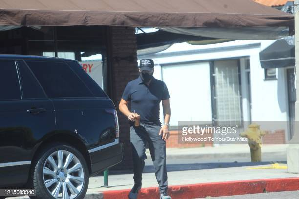 Jeremy Piven is seen on May 24 2020 in Los Angeles CA