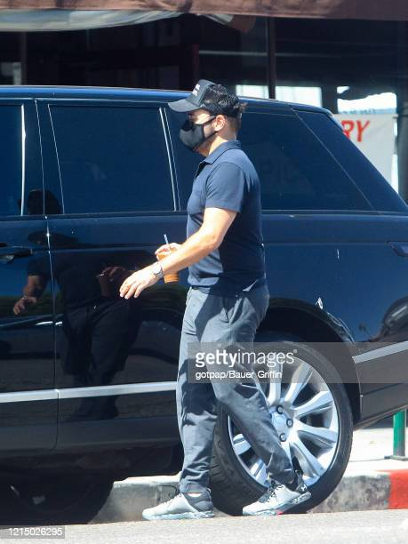 Jeremy Piven is seen on May 24 2020 in Los Angeles California