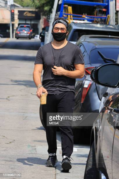Jeremy Piven is seen on October 8, 2020 in Los Angeles, California.