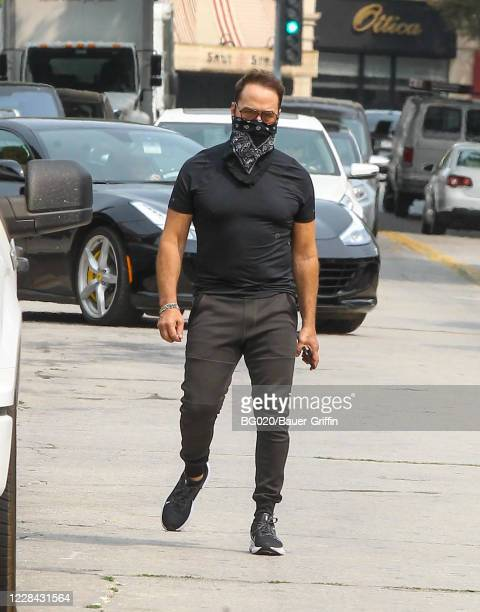 Jeremy Piven is seen on September 09 2020 in Los Angeles California