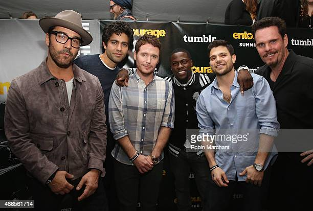 Jeremy Piven, Kevin Connolly, Adrian Grenier, Kevin Hart, Jerry Ferrara and Kevin Dillon attend Tumblr FUCK YEAH Party Sponsored By Entourage At SXSW...