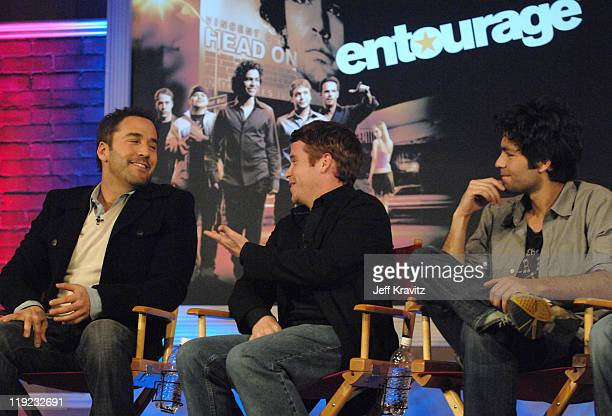 Jeremy Piven, Kevin Connolly and Adrian Grenier during HBO's 13th Annual U.S. Comedy Arts Festival - Entourage: Behind the Scenes - Panel at St....