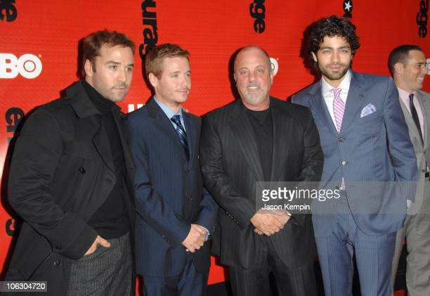 Jeremy Piven Kevin Connolly Billy Joel and Adrian Grenier