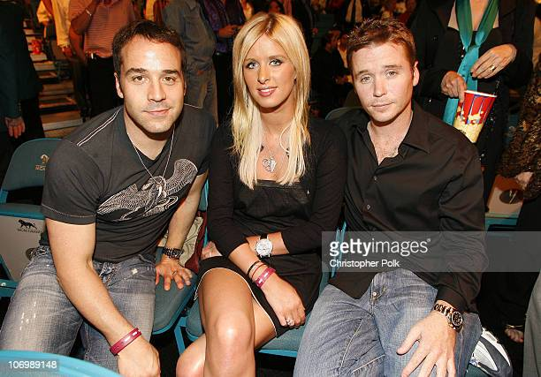 Jeremy Piven Nicky Hilton and Kevin Connolly *Exclusive*