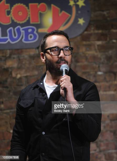 Jeremy Piven performs at The Stress Factory Comedy Club on September 14 2018 in New Brunswick New Jersey