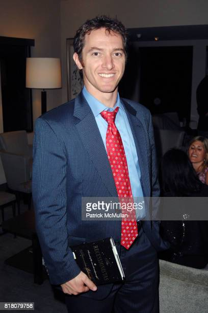Jeremy Plager attend David Meister and Alan Siegel Host Private Party to Celebrate Alexandra Lebenthal's New Novel THE RECESSIONISTAS at a Private...