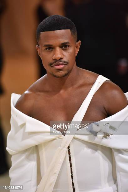 Jeremy Pope attends 2021 Costume Institute Benefit - In America: A Lexicon of Fashion at the Metropolitan Museum of Art on September 13, 2021 in New...