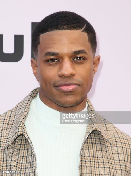 Jeremy Pope attends the 13th Annual Essence Black Women In Hollywood Awards Luncheon at the Beverly Wilshire Four Seasons Hotel on February 06, 2020...