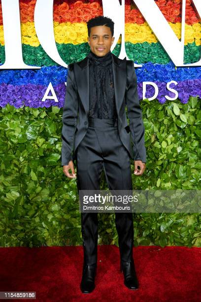 Jeremy Pope attends the 73rd Annual Tony Awards at Radio City Music Hall on June 09 2019 in New York City