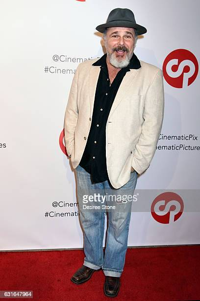 Jeremy Ratchford attends the Rachele Royale Single and Music Video Release for Circus Life at Cinematic Pictures Gallery on January 13 2017 in...