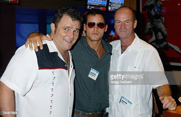 Jeremy Ratchford Justin Chambers John Finn of Cold Case in Hollywood California