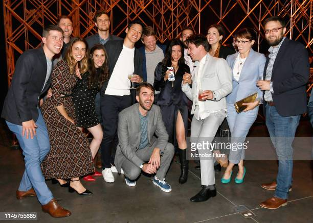 Jeremy Reitz Ross Putnam ack Quaid Jeff Chan Andrew Rhymer Maya Erskine Beck Bennett Aaron Schroeder and Jessy Hodges attend the 2019 Tribeca Film...