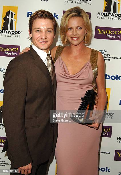Jeremy Renner and Charlize Theron