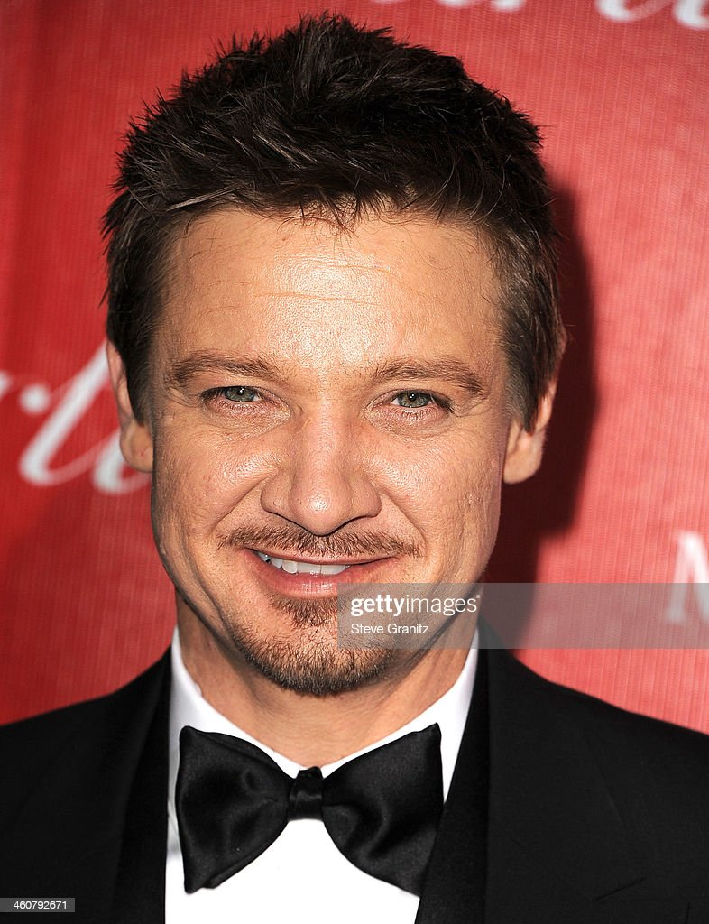 Jeremy Renner arrives at the 25th Annual Palm Springs International Film Festival Awards Gala at Palm Springs Convention Center on January 4, 2014 in Palm Springs, California.