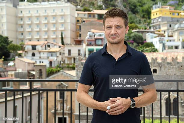 Jeremy Renner attends 62 Taormina Film Fest Day 7 on June 17 2016 in Taormina Italy