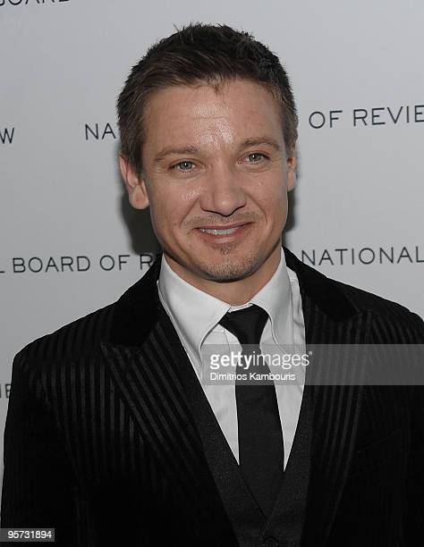 Jeremy Renner attends the 2010 National Board of Review Awards Gala at Cipriani 42nd Street on January 12 2010 in New York City