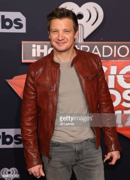 Jeremy Renner attends the 2017 iHeartRadio Music Awards at The Forum on March 5 2017 in Inglewood California