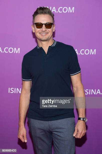 Jeremy Renner attends the ISINA Global Gala at Unici Casa on October 10 2017 in Culver City California
