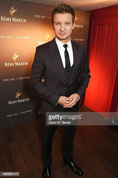 Jeremy Renner attends the launch of La Maison Remy Martin the cognac brand's new members club on November 2 2015 in London England