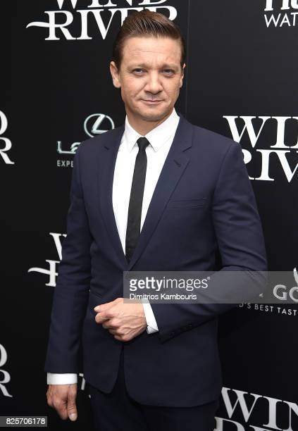 Jeremy Renner attends the Screening Of Wind River at The Museum of Modern Art on August 2 2017 in New York City