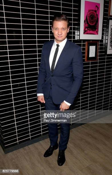 Jeremy Renner attends The Weinstein Company With FIJI Grey Goose Lexus And NetJets Host A Screening Of 'Wind River' After Party at The Skylark on...
