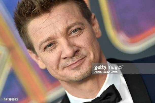 Jeremy Renner attends the World Premiere of Walt Disney Studios Motion Pictures 'Avengers Endgame' at Los Angeles Convention Center on April 22 2019...