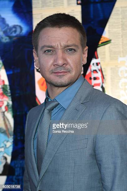 Jeremy Renner attends W Magazine NKPR IT House x Producers Ball Studio on September 11 2016 in Toronto Canada