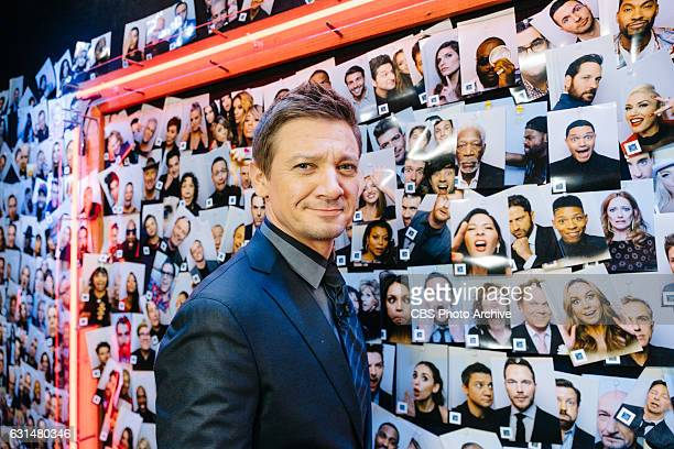 Jeremy Renner backstage during 'The Late Late Show with James Corden' Tuesday January 10 2017 On The CBS Television Network