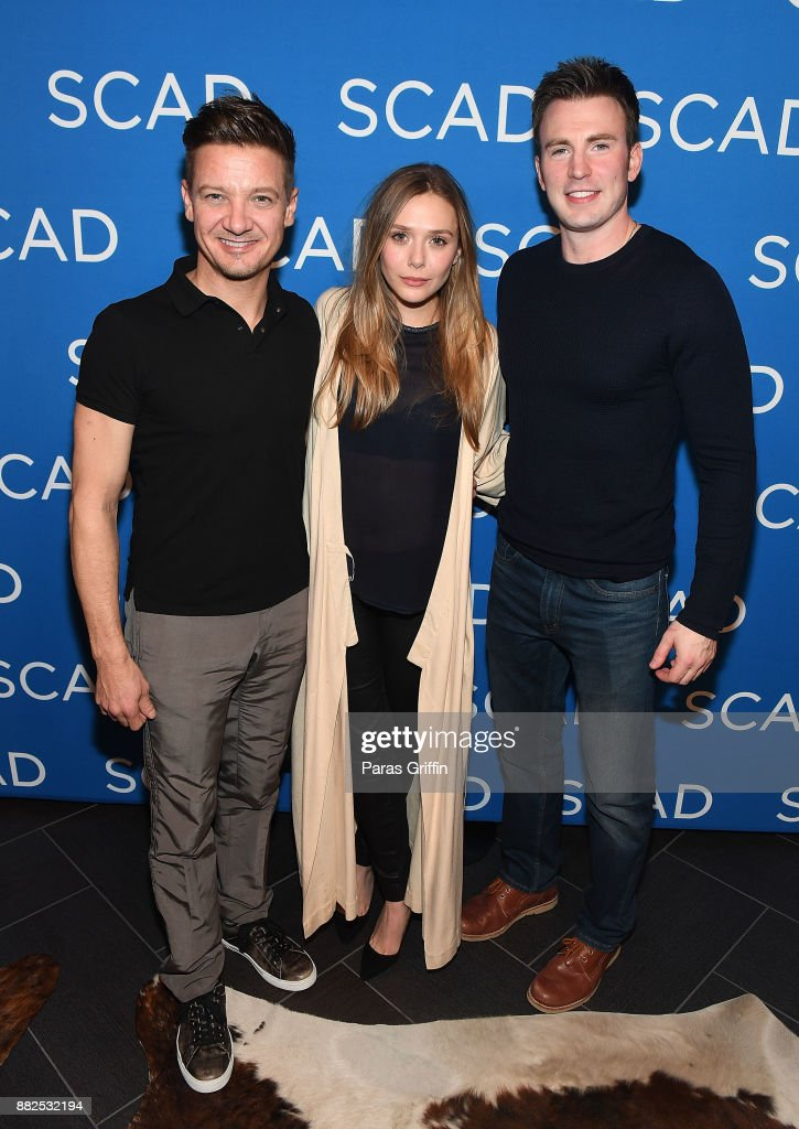 WIND RIVER Special Screening With Jeremy Renner, Elizabeth Olsen, Robert Downey Jr. And Chris Evans At SCADShow