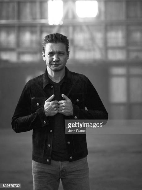 Jeremy Renner is photographed for Nobelman Magazine on June 14 2017 in Los Angeles California