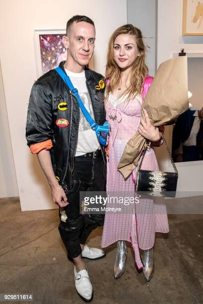 Jeremy Scott and Frances Bean Cobain attends 'Other Peoples Children launch and store opening' at Other Peoples Children on March 8 2018 in Los...
