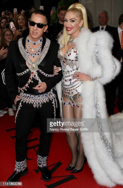 Jeremy Scott and Gwen Stefani are seen on May 06 2019 in New York City