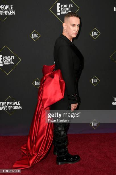 Jeremy Scott attends the 2019 E People's Choice Awards at Barker Hangar on November 10 2019 in Santa Monica California