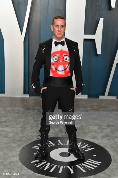 Jeremy Scott attends the 2020 Vanity Fair Oscar party hosted by Radhika Jones at Wallis Annenberg Center for the Performing Arts on February 09, 2020...
