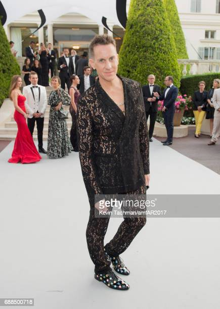 Jeremy Scott attends the amfAR Gala Cannes 2017 at Hotel du CapEdenRoc on May 25 2017 in Cap d'Antibes France