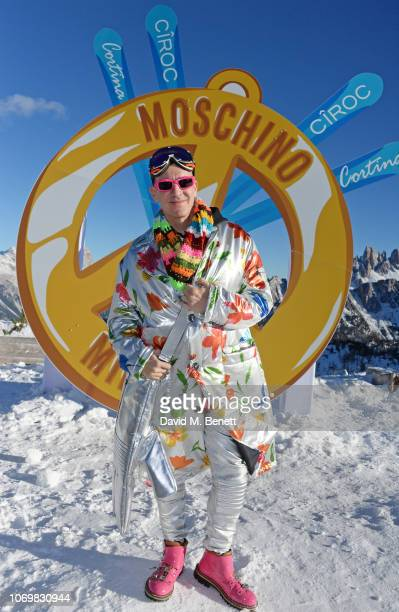 Jeremy Scott attends the CIROC luxury Vodka x Moschino highaltitude wonderland party hosted by Jeremy Scott and Jodie Harsh to celebrate the start of...