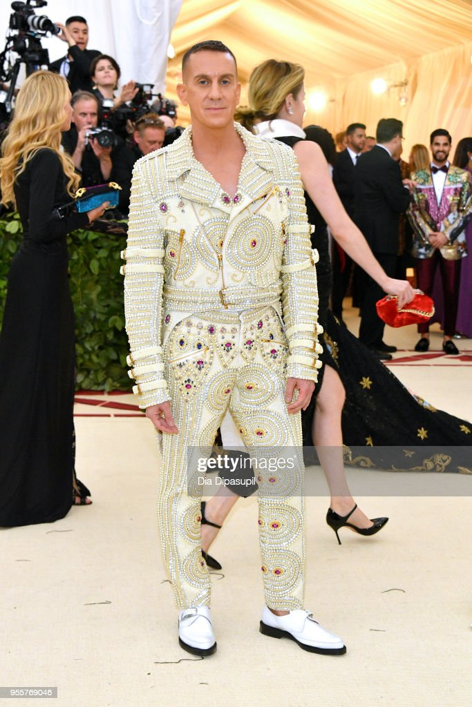 Jeremy Scott attends the Heavenly Bodies: Fashion & The Catholic Imagination Costume Institute Gala at The Metropolitan Museum of Art on May 7, 2018 in New York City.