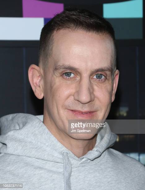 Jeremy Scott attends the Moschino x HM show at Pier 36 on October 24 2018 in New York City