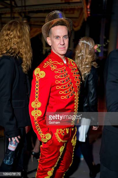Jeremy Scott attends the V Magazine Halloween Party presented by Chanel at Jane's Carousel on October 26 2018 in Brooklyn New York