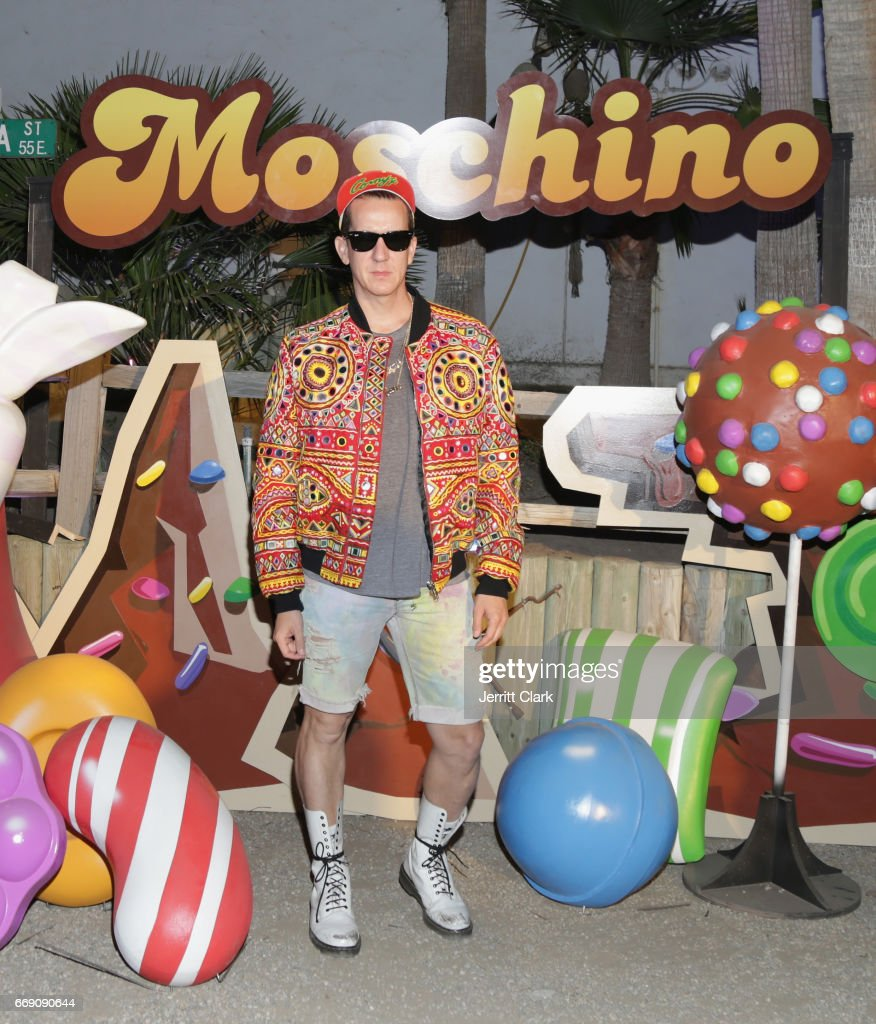 Jeremy Scott partners with King (creators of Candy Crush franchise) to kick-off Festival Season with a Moschino Candy Crush Capsule Collection launched at the Moschino Candy Crush Desert Party on April 15, 2017 in Coachella, California.