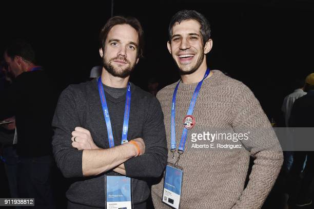 Jeremy Seifert CoDirector 'The Devil We Know' and Gregory Kershaw Producer 'The Last Race' attend the Sundance Film Festival Awards Reception at...