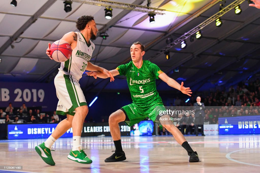FRA: Nanterre 92 v Limoges CSP - Leaders Cup 2019