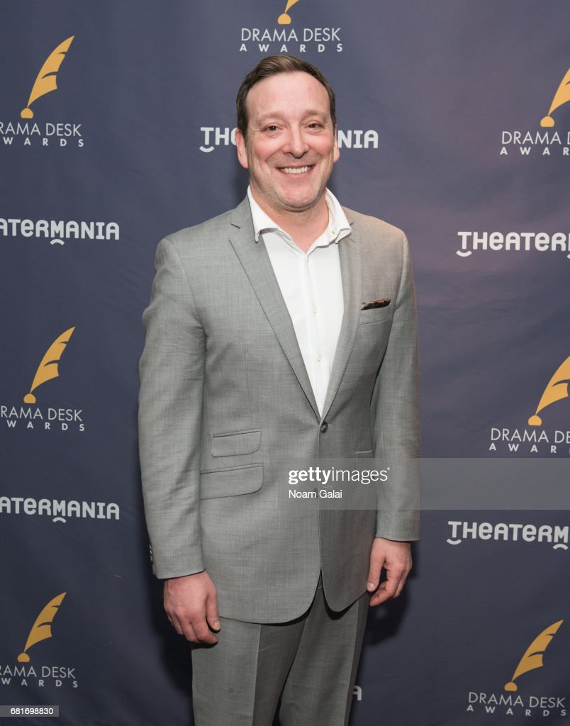 Jeremy Shamos attends the 2017 Drama Desk Nominees Reception at Marriott Marquis Times Square on May 10, 2017 in New York City.