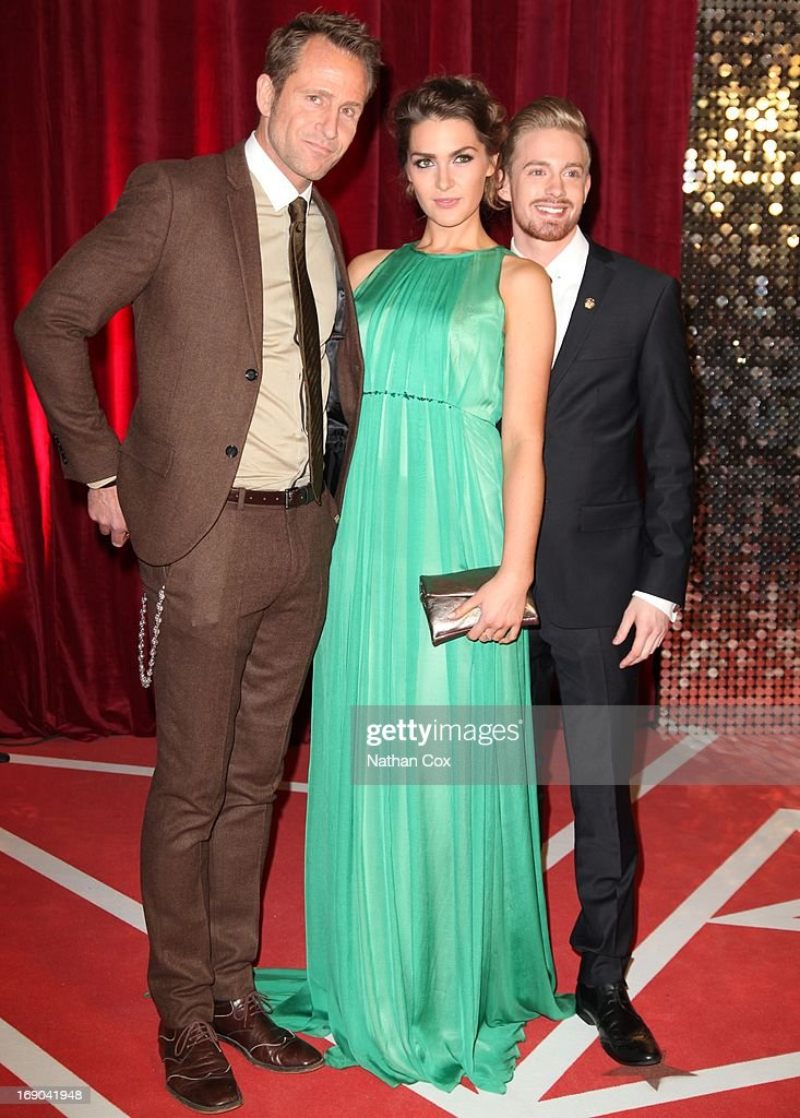 Jeremy Sheffield attends The British Soap Awards 2013 at Media City on May 18, 2013 in Manchester, England.