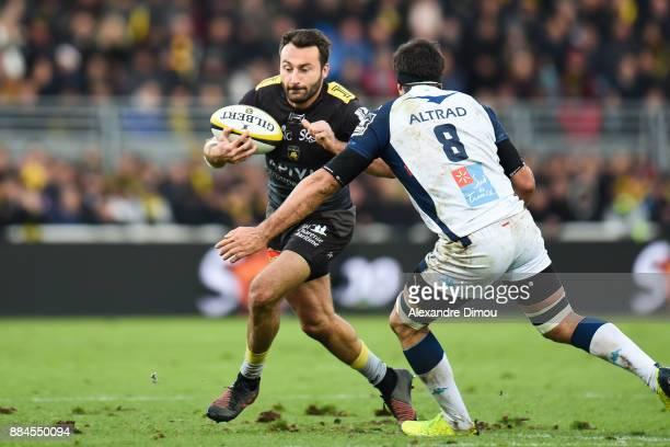 Jeremy Sinzelle of La Rochelle during the Top 14 match between La Rochelle and Montpellier on December 2 2017 in La Rochelle France