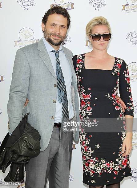 Jeremy Sisto and Addie Lane arrive at the 2014 Breeders' Cup World Championships held at Santa Anita Park on November 1 2014 in Arcadia California