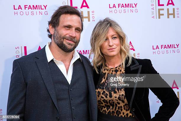 Jeremy Sisto and Addie Lane attend the LA Family Housing's Annual Awards 2016 at The Lot on April 21 2016 in West Hollywood California